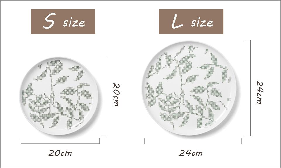 Grey Leaves,グレーリーブス,SサイズとLサイズの2種類