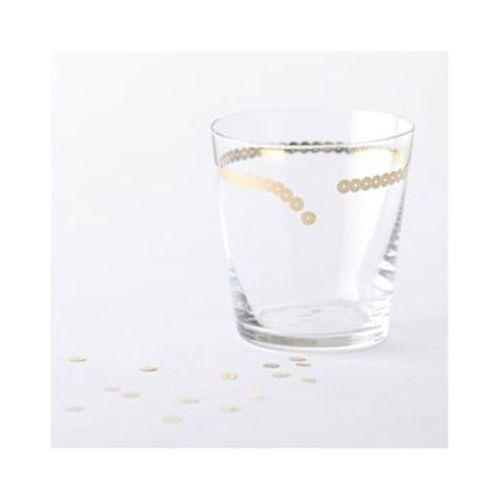 ビーズでおめかししたグラス 乾杯をしたくなるデザイン