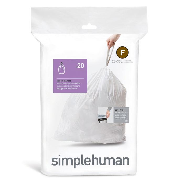 レクタンギュラ—ステップダストボックス30L | simplehuman | 使いやすい専用ごみ袋