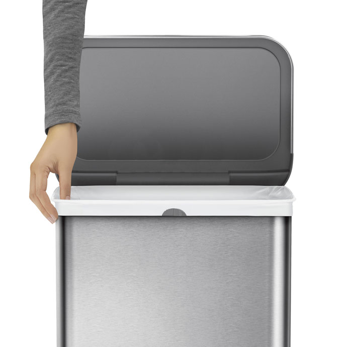 レクタンギュラ—ステップダストボックス30L | simplehuman | ゴミ袋交換ラクラク