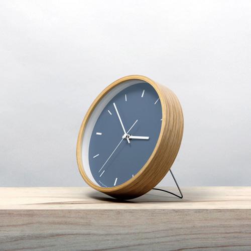 Paint Clock,ペイントクロック,ネイビー,