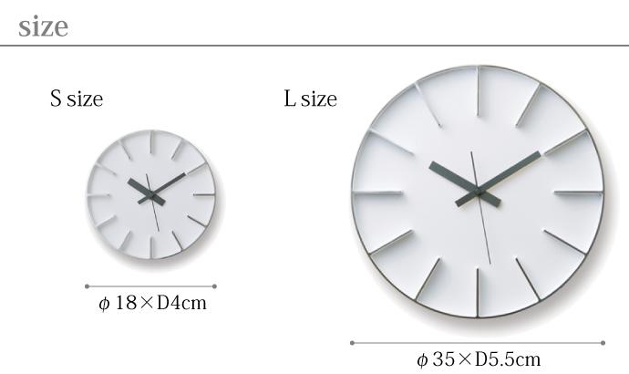 Edge Clock | エッジクロック | サイズ