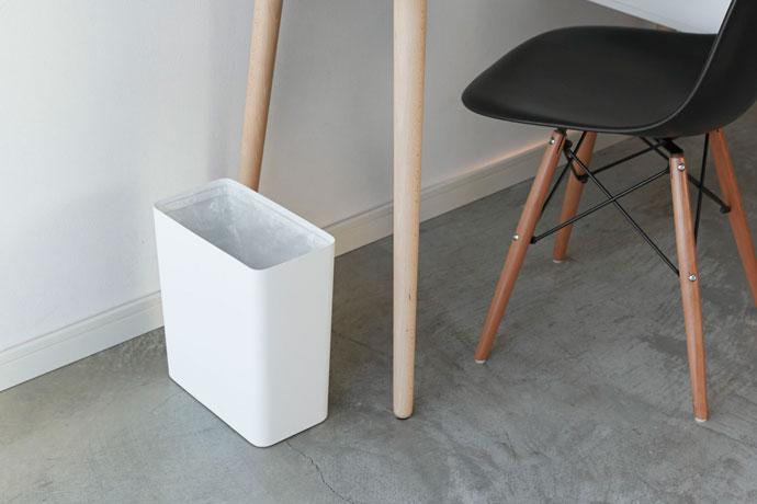 スチール製のダストボックス | ゴミ袋を隠して清潔感UP