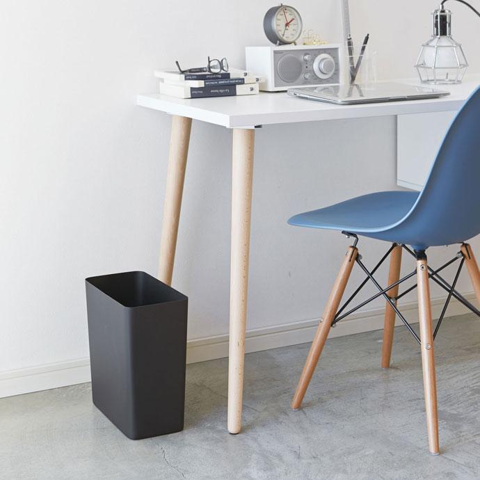 スチール製のダストボックス | 洗練された空間 | ブラック