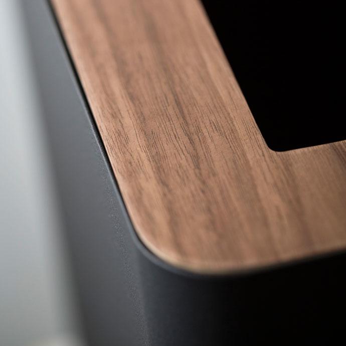 上質デザインの蓋付きダストボックス | 角型 | 丈夫な素材 | お手入れカンタン