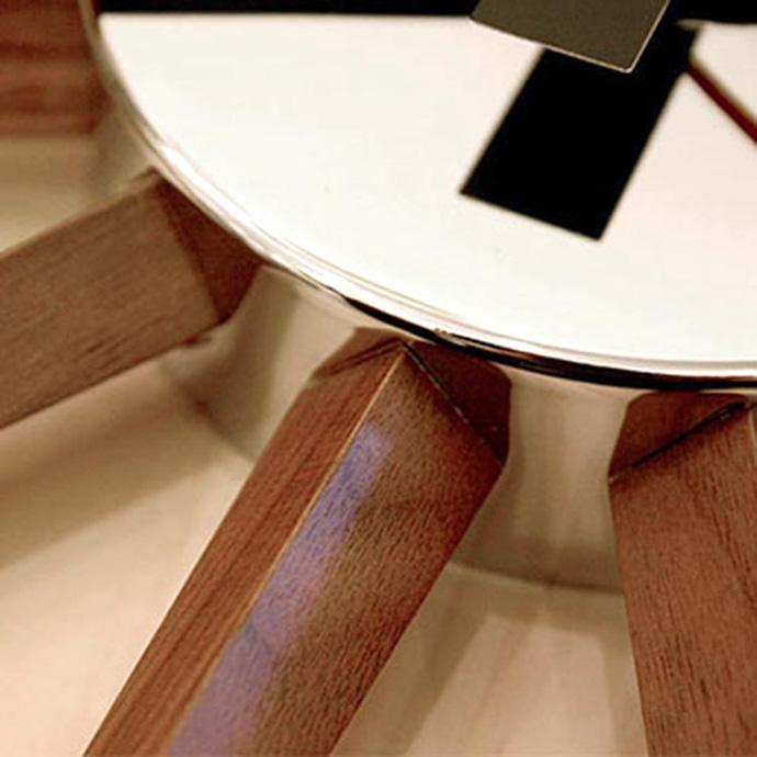 Atars 2 Clock | アトラス2クロック | やさしく温かみのあるウッド素材