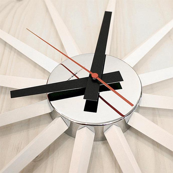 Atars 2 Clock | アトラス2クロック | 赤い秒針