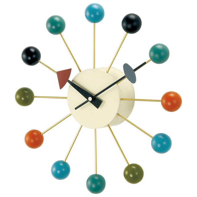 George Nelson Ball Clock | ジョージネルソン | ボールクロック | マルチカラー