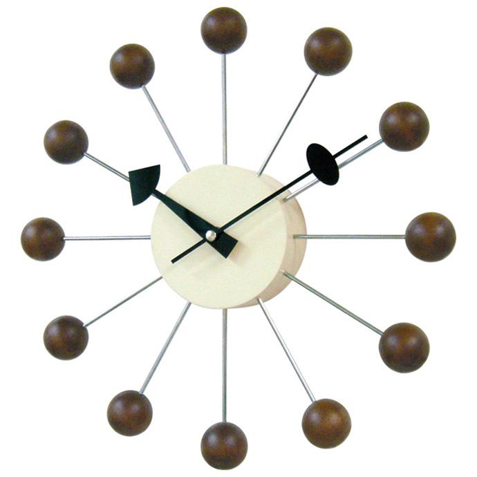 George Nelson Ball Clock | ジョージネルソン | ボールクロック | ウォールナット