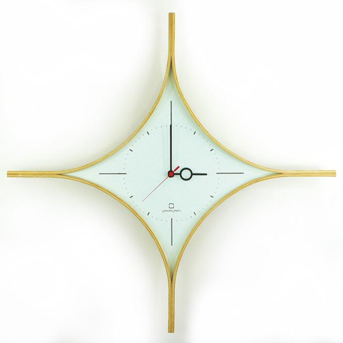 ダイヤの形の時計 | DAIA CLOCK | ヤマト工芸 | ライトブルー