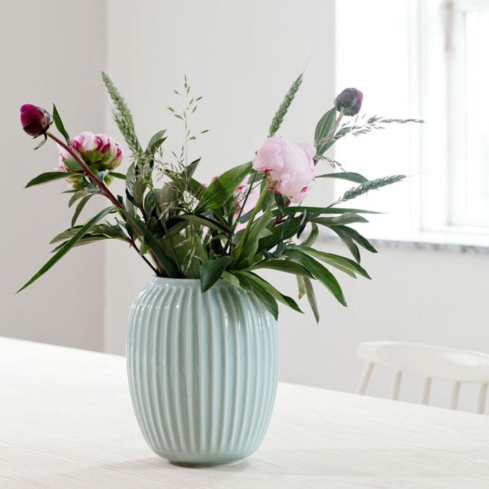 ハンマースホイ,フラワーベース,ミント,花のある暮らしを楽しむ