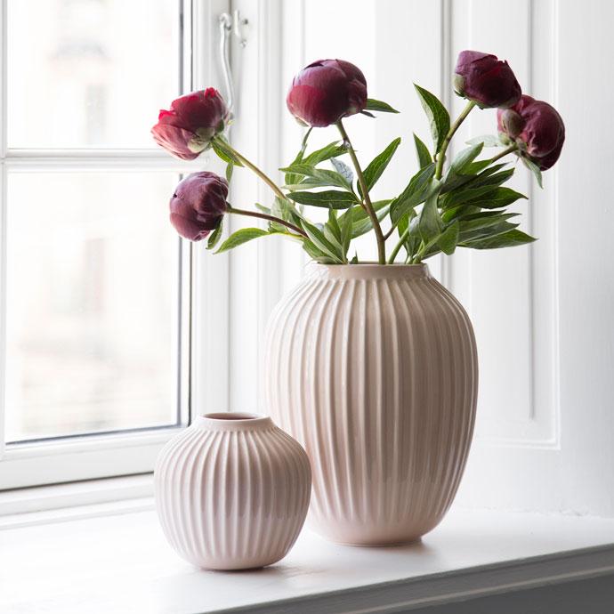 ハンマースホイ,フラワーベース,ローズ,花のある暮らしを楽しむ