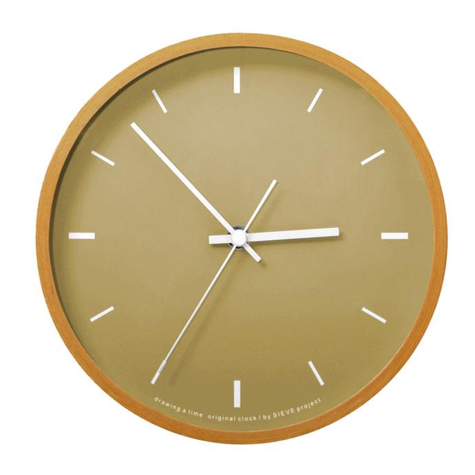 Paint Clock | ペイントクロック | マットなカラーが素朴な雰囲気