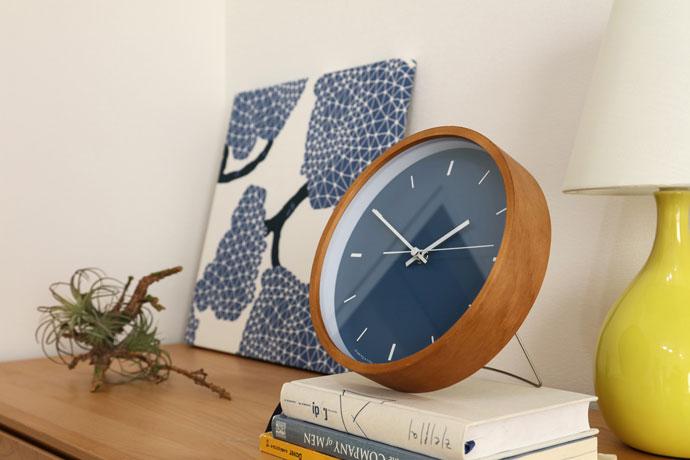 Paint Clock | ペイントクロック | 卓上時計としても使えます