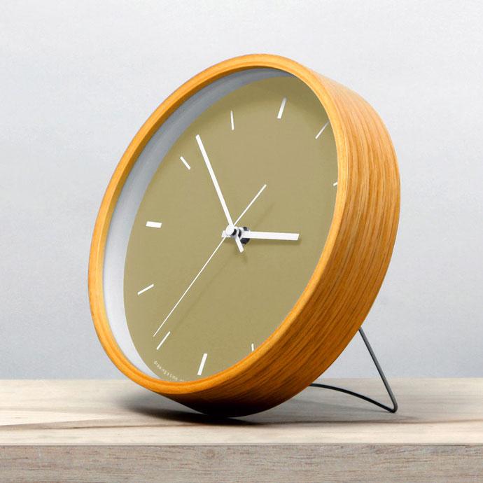 Paint Clock | ペイントクロック | マスタード