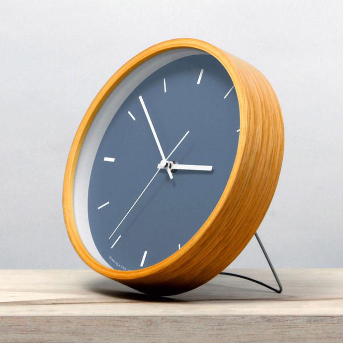 Paint Clock | ペイントクロック | ネイビー