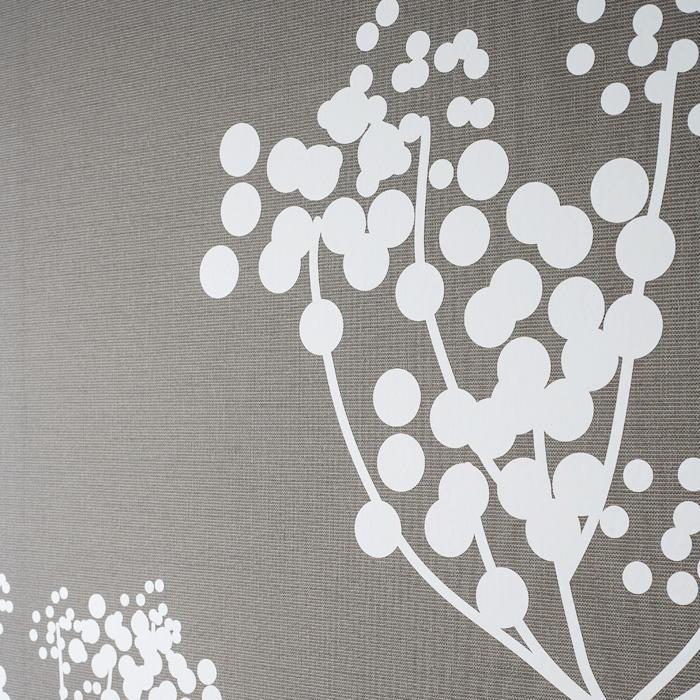 ウォールステッカー,円で描かれたアニス,ホワイト,モダンテイストなデザイン