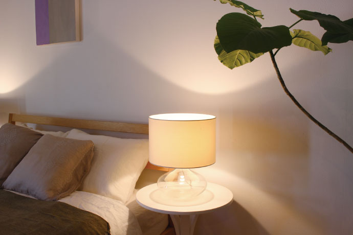 Acqua,アクア,テーブルランプ,安らぎをくれるやさしい光