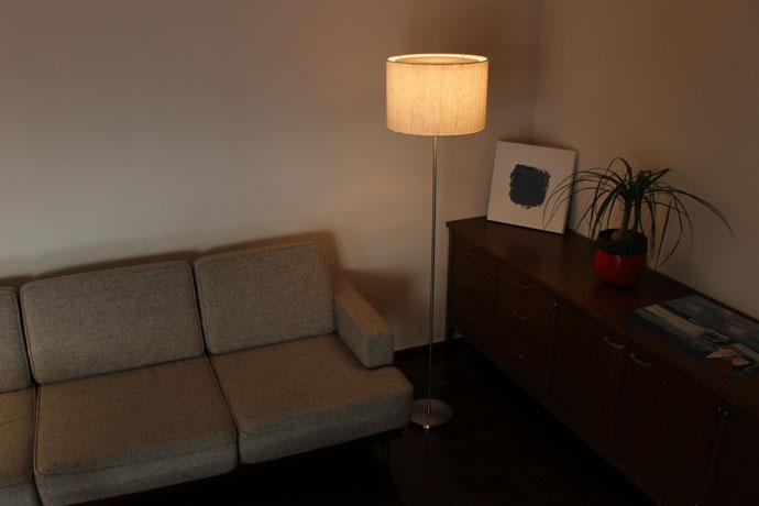 LEDフォスキア|フロアランプ|「近江の麻」が生む癒しの空間