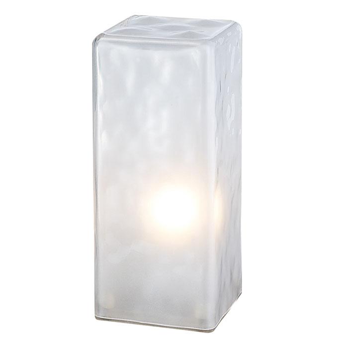 フロスティ,ブロックランプ,発光する氷の塊をイメージしたランプ