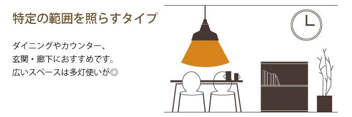 レイルロード | ペンダントライト | この照明のタイプ