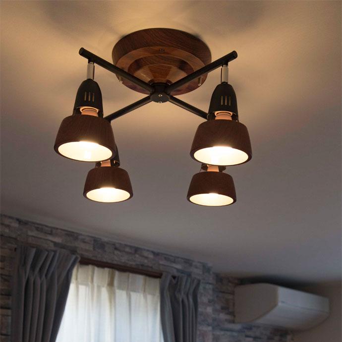ハーモニーX|シーリングランプ | 効率的にお部屋全体を照らします