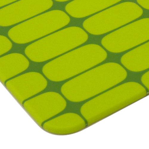 まな板,ツートーン,グリーン,アップ,鮮やかなグリーンが食卓のアクセントカラーに