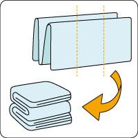寝具の畳み方