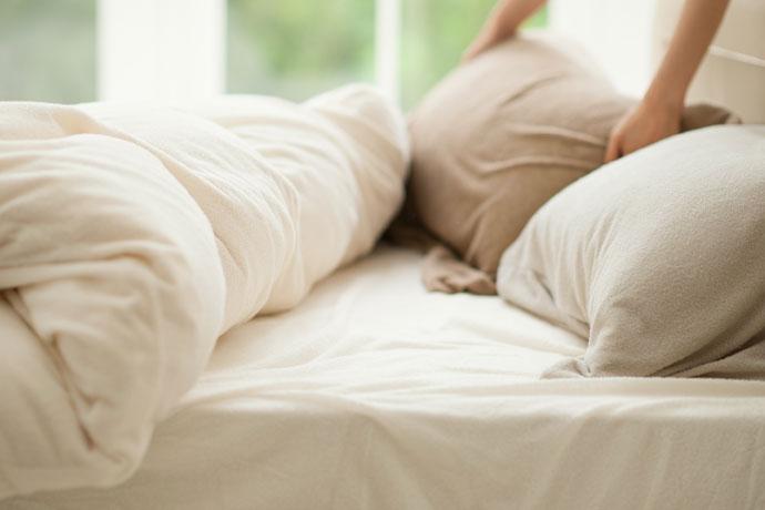 ベッドシーツ | エアリーパイル | ふんわり メレンゲタッチ