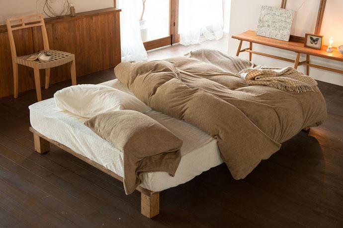 ベッドシーツ | エアリーパイル | 吸湿性バツグン