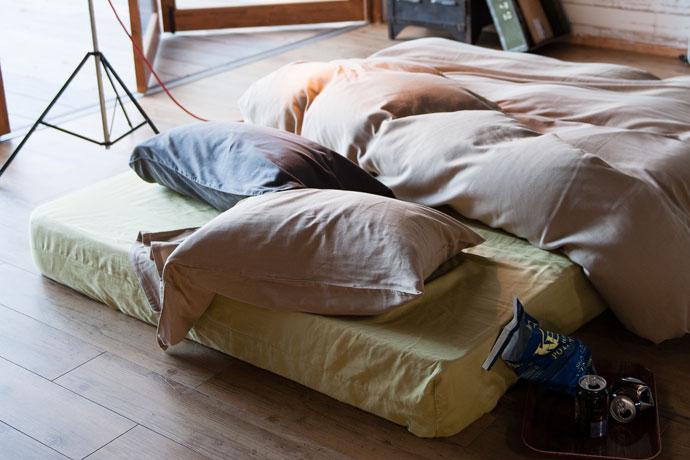 ベッドシーツ | ダブルガーゼ | お洗濯するほど馴染む素材