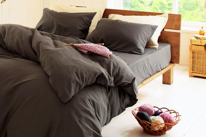 ベッドシーツ | ダブルガーゼ | 体温を保ち冬も快適