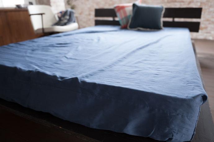 ベッドシーツ | ダブルガーゼ | お洗濯のしやすい