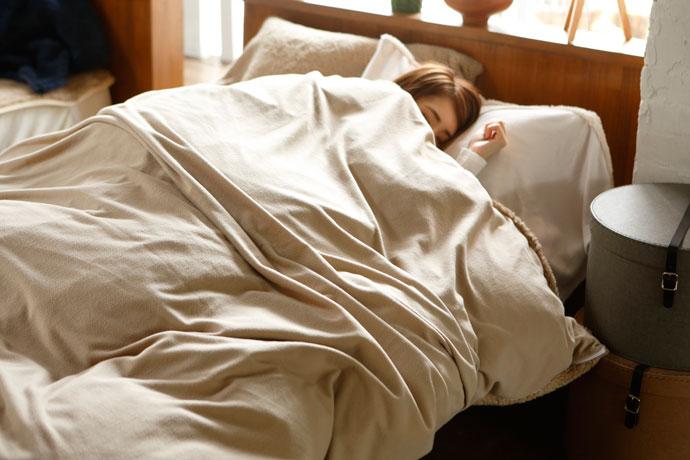 コンフォーターカバー | ムクムク | 暖かく朝までぐっすり