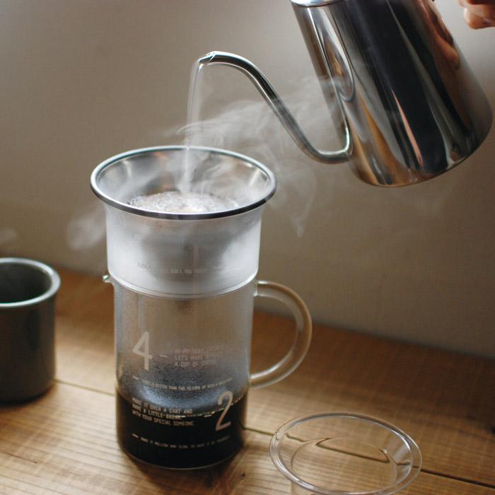 Genuineコーヒーポット,ハンドドリップのためのこだわりが詰まったケトル