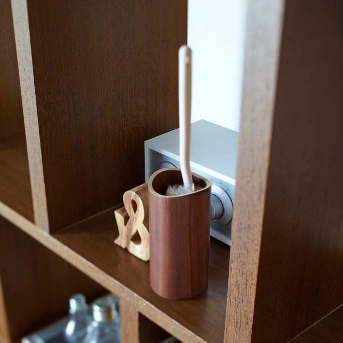 やさしい木目ののハンディワイパースタンド | インテリアと調和するデザイン