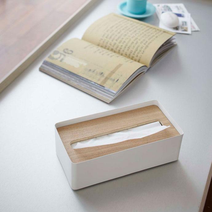 上質デザインの蓋付きティッシュボックス | インテリアの完成度を上げるティッシュボックス
