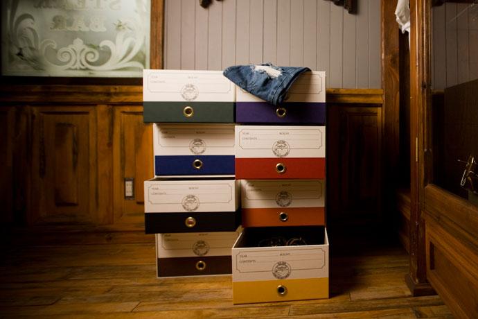 こだわりの紙製収納BOX,ホワイト,スッキリ片付く,洒落たデザイン!