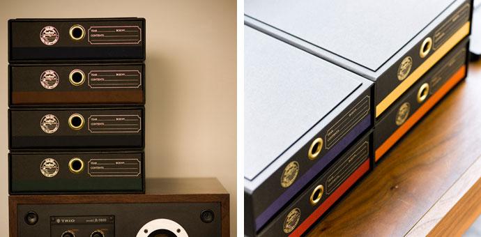 紙製のドキュメントBOX,ブラック,A4サイズが納まる大きさ,丈夫で長持ち