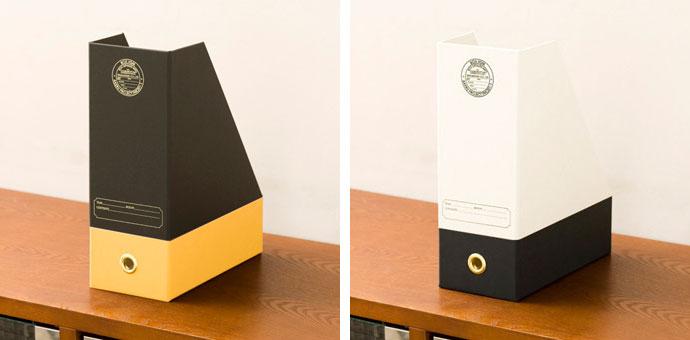 こだわりの紙製ファイルケース,スッキリ片付く,洒落たデザイン!