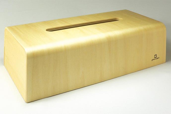 曲げ木カーブが美しいティッシュボックス | NATURE BOX | ヤマト工芸 | ナチュラル