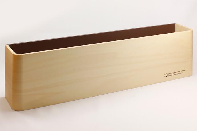 曲げ木カーブが美しいスリッパラック | U SLIPPERS | ヤマト工芸 | ブラウン