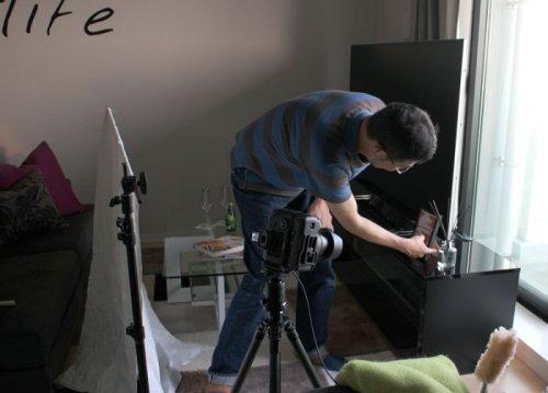 カメラマンさんの写真撮影