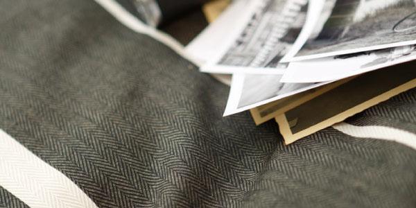 ヘリンボーン織り クロ-ズアップ