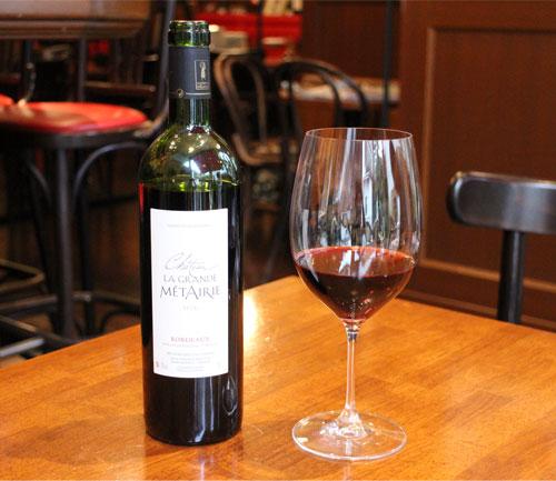カベルネ・ソーヴィニヨン メルローなど軽い飲み口のワインが合うグラス