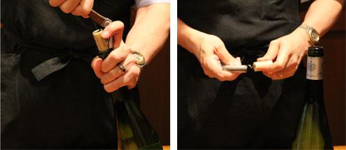 手にしっくりと馴染むワインオープナー