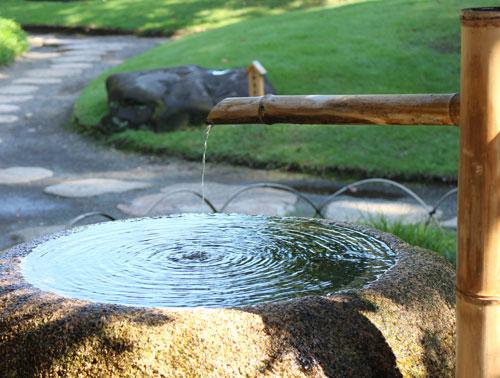 和の趣にあふれる公園