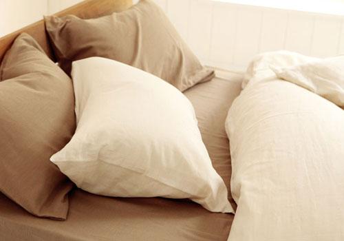 ダブルガーゼ素材の寝具