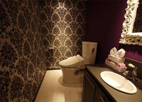 内装トイレ
