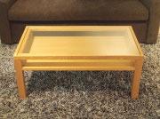 天板:ガラス | 棚板:有 | BUENO LIVING TABLE